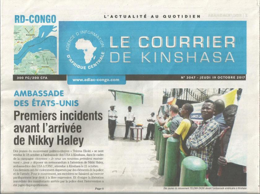 courrier de kinshasa telema ekoki