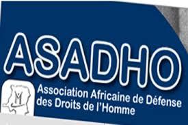 « L'ASADHO exige la libération desmembres du mouvement citoyenTELEMA EKOKI»/ COMMUNIQUE DE PRESSE N°021/ASADHO/2017